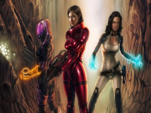 Mujeres de Mass Effect 3