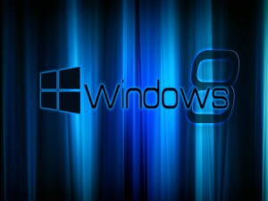 Windows 8 con rayas azules