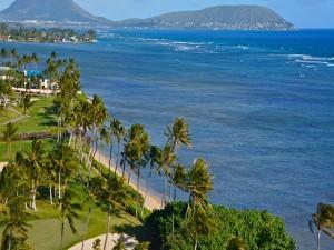 Postal: Mar y playas en Nueva Zelanda