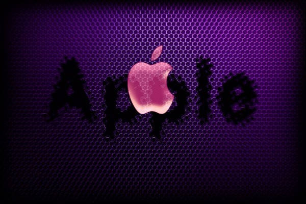 Logo de Apple rosa