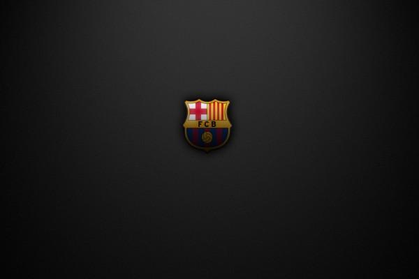 Escudo del Barcelona F.C. sombreado