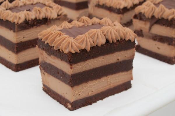 Pasteles dos chocolates