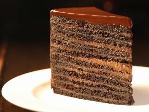Postal: Triángulo de chocolate