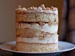 Layer cake de manzana y crema de vainilla