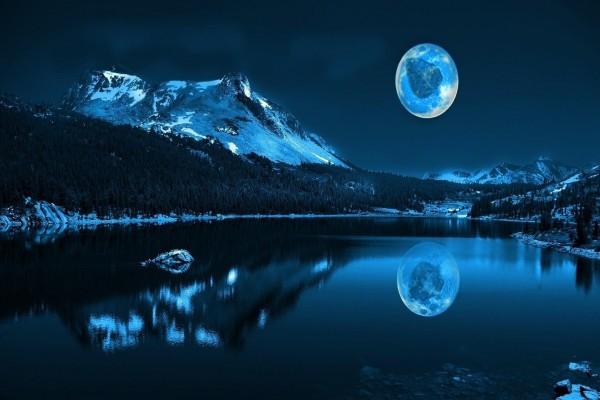 Una hoja en la luna