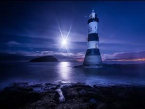 Noche en el faro