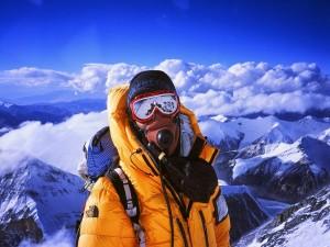 Oxígeno en la montaña