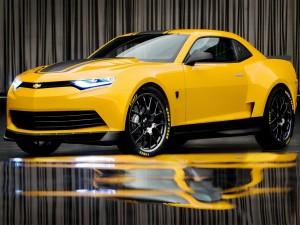 Postal: Chevrolet Camaro Bumblebee Concept
