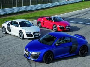 Postal: Tres Audi R8