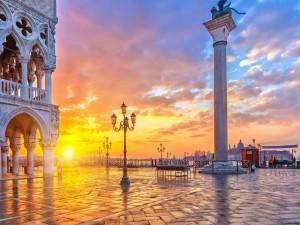 Últimos rayos sobre Venecia