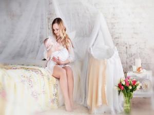 Postal: Amor de madre