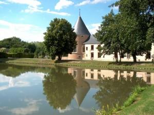 Postal: Castillo de Chamerolles (Francia)