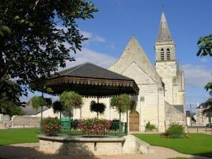 Iglesia de Restigné (Francia)