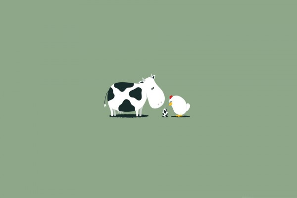 Un huevo-vaca