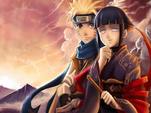 Naruto e Hinata juntos