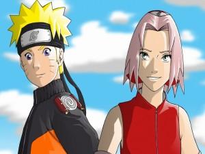 Postal: Naruto y Sakura