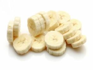 Postal: Rodajas de plátano