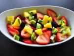 Postre de frutas frescas