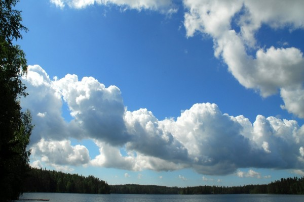 Las nubes en el cielo