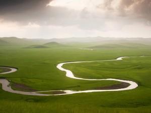 El río en la llanura