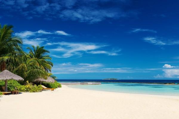 Una playa para desconectar