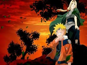 Naruto y Tsunade