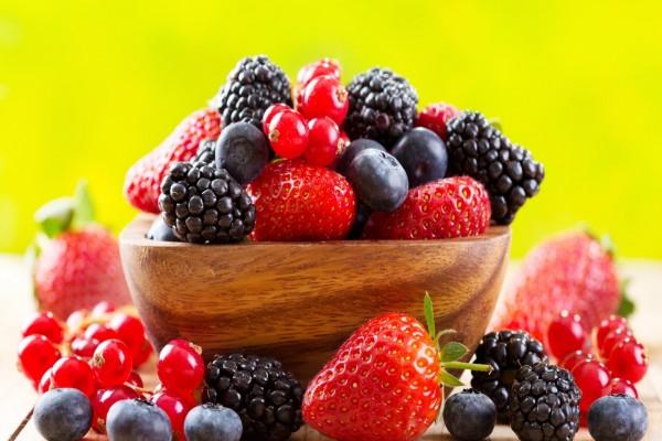 Exquisitos frutos rojos