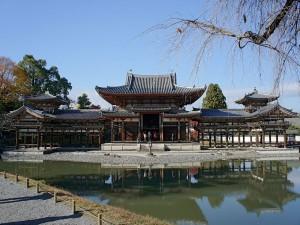 El templo budista Byōdō-in, ubicado en la ciudad de Uji (Japón)