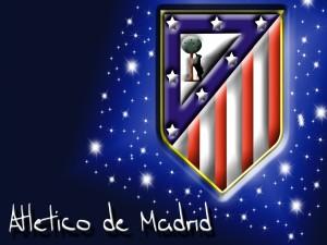 Postal: Escudo Atlético de Madrid