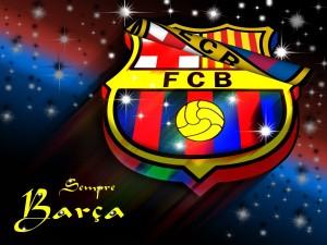 Postal: Escudo F.C. Barcelona