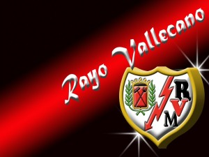 Postal: Escudo Rayo Vallecano
