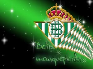 Postal: Escudo Real Betis Balompié