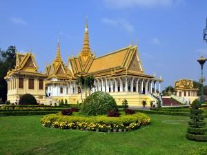 Postal: Palacio Real de Phnom Penh (Camboya)