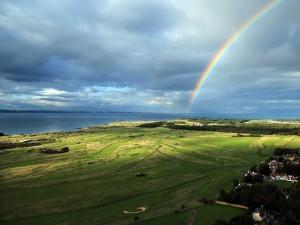 Postal: Un gran arcoíris