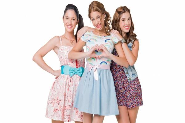 Violetta,Camila y Franchesca
