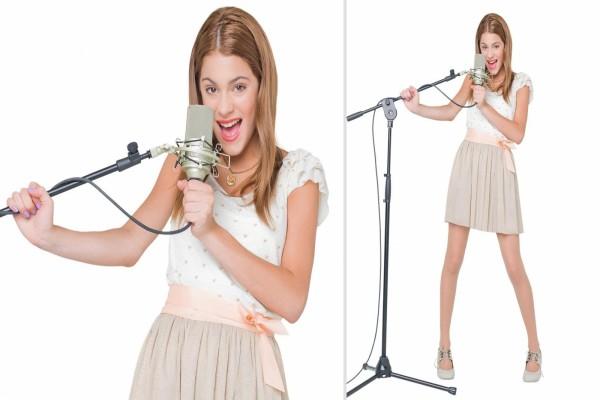 La cantante Violetta