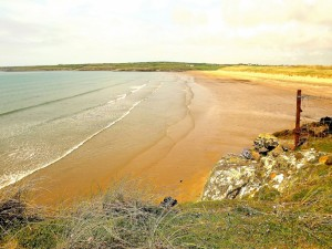 Playa en Aberffraw (costa sudoccidental de Anglesey, Gales)