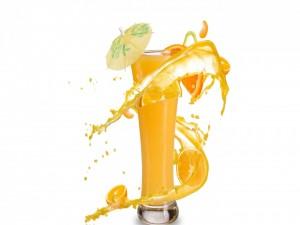 Cóctel de naranja