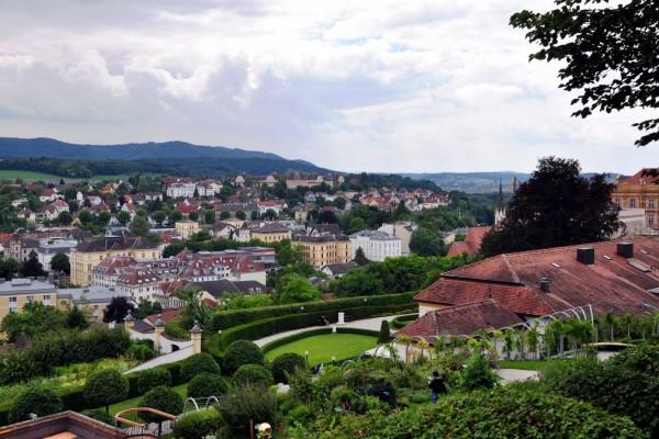 Vista de Melk, Austria