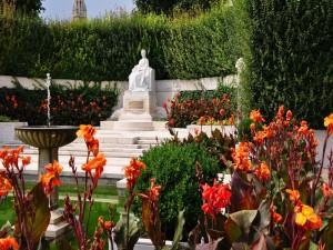 Postal: Estatua de la Emperatriz Sissi (Viena, Austria)
