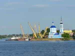 Postal: Canal de Moscú (Rusia)