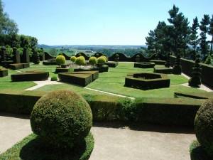 Jardín del castillo de La Ballue (Francia)