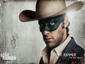 """Armie Hammer es """"El Llanero Solitario"""""""