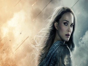 "Postal: Natalie Portman en ""Thor: El Mundo Oscuro"""