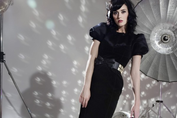 Katy Perry en una sesión de fotos