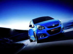 Coche VXR Blue Edition