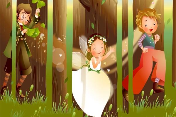 Corriendo por el bosque