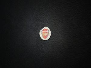 Pegatina con el escudo del Arsenal