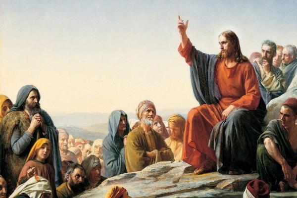 El Sermón del monte, impartido por Jesús de Nazaret a sus discípulos