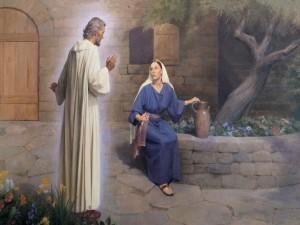 La Anunciación: el ángel Gabriel se aparece a María